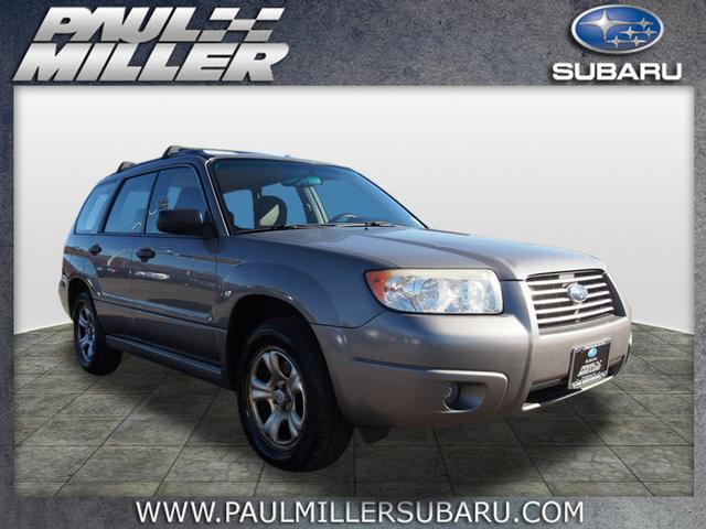 pre owned 2006 subaru forester 2 5x awd 2 5 x 4dr wagon w. Black Bedroom Furniture Sets. Home Design Ideas